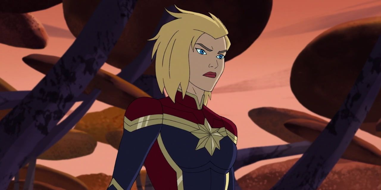 nycc: captain marvel joins guardians of the galaxy animated series