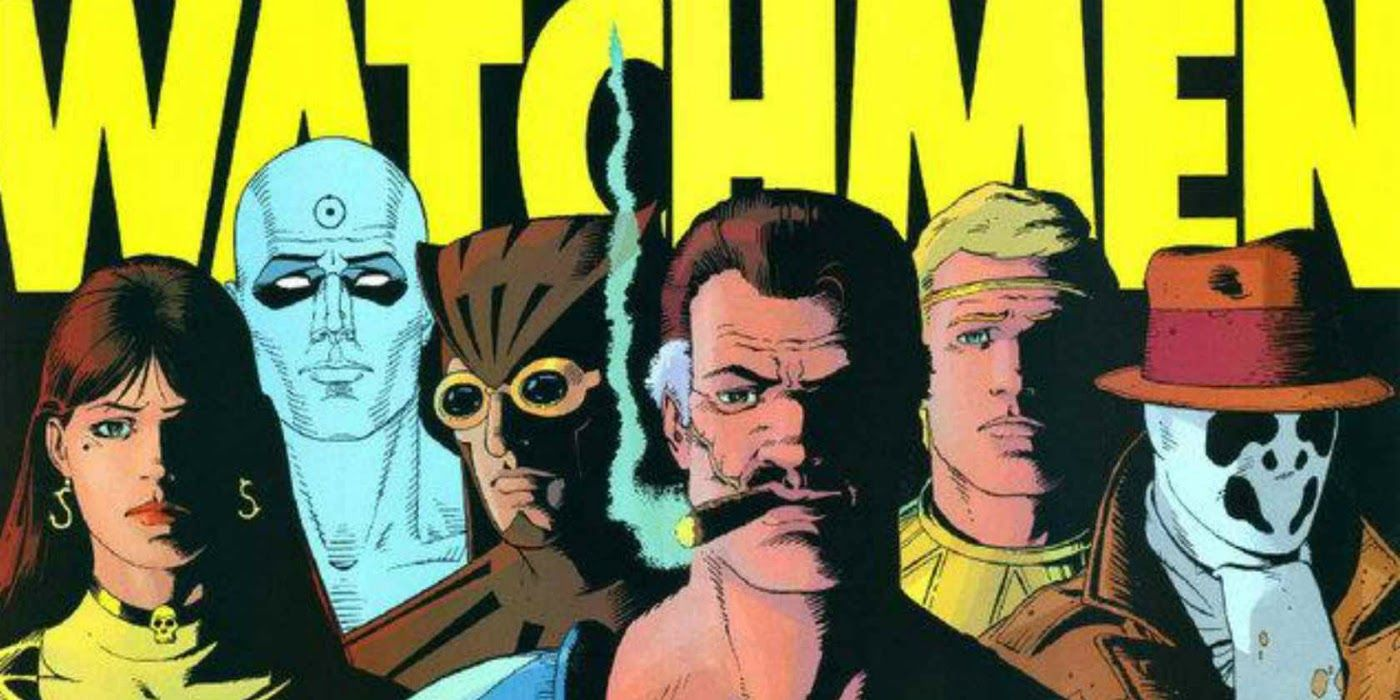 Jim Lee Celebrates HBO's Watchmen with New Drawing of the Original Characters