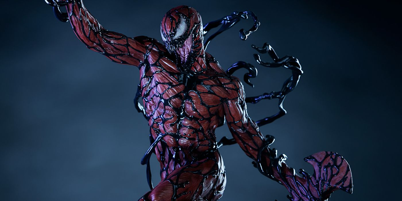 Sideshow S New Carnage Statue Is Scary Realistic Cbr Carnage