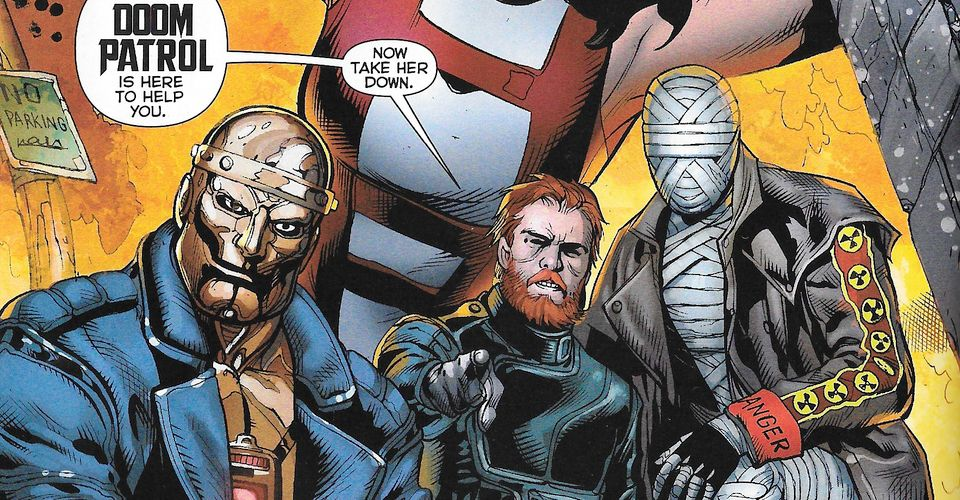 Titans Live Action Tv Series Casts Doom Patrol Leader Cbr