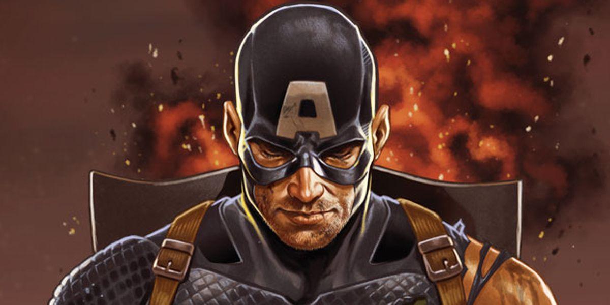EXCLUSIVE: Captain America Exposed on Secret Empire #0 Cover