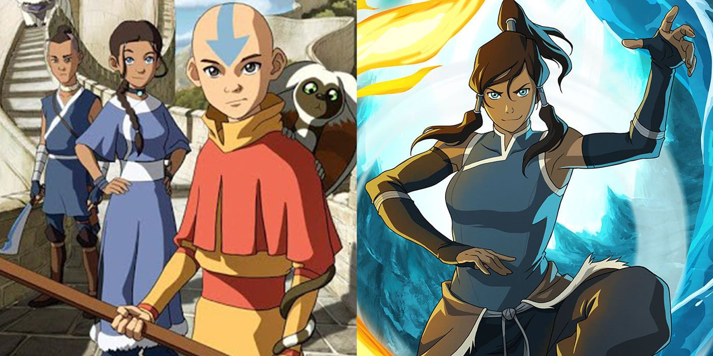 Top 10 Avatar: The Last Airbender and The Legend of Korra