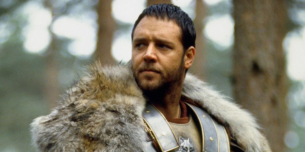 Gladiator's Tiger Genuinely Scared Russell Crowe While Filming