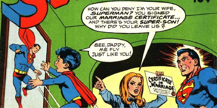 superman 218 - Las 15 bromas más locas que Mr. Mxyzptlk le ha hecho a Superman