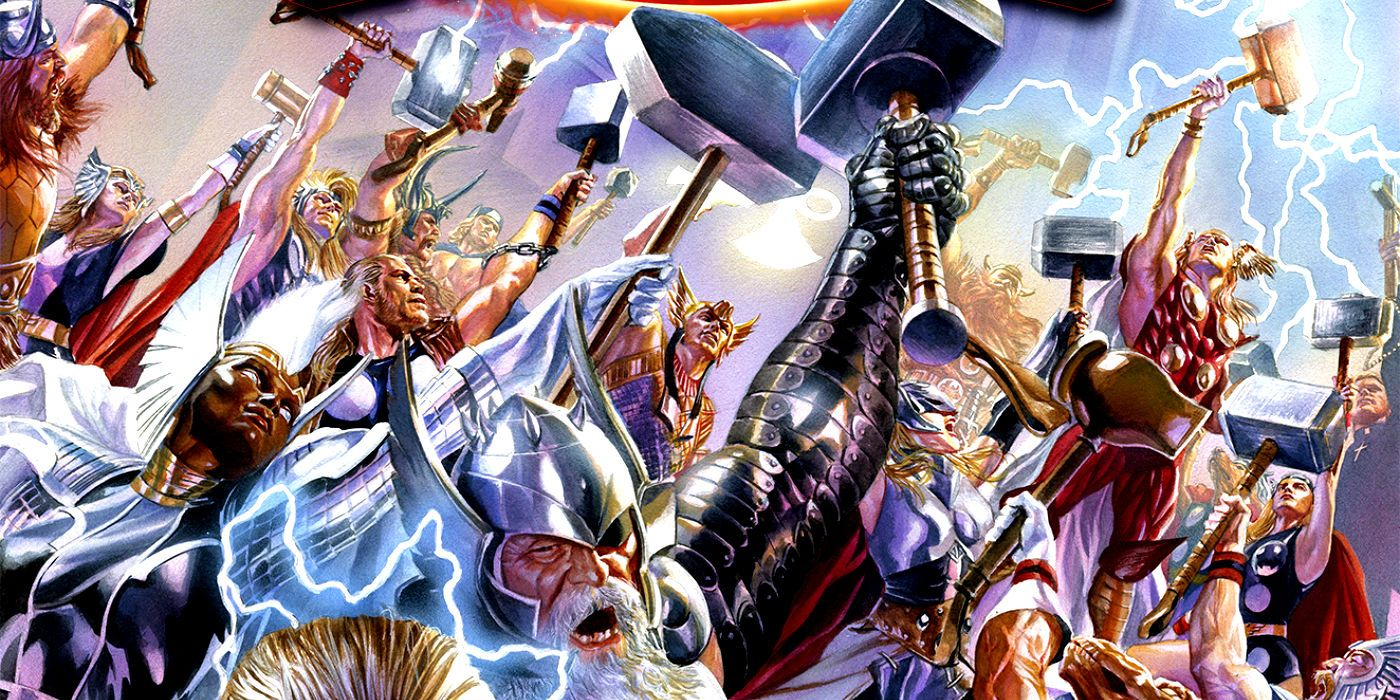 The 15 Coolest Versions Of Thor's Hammer | CBR