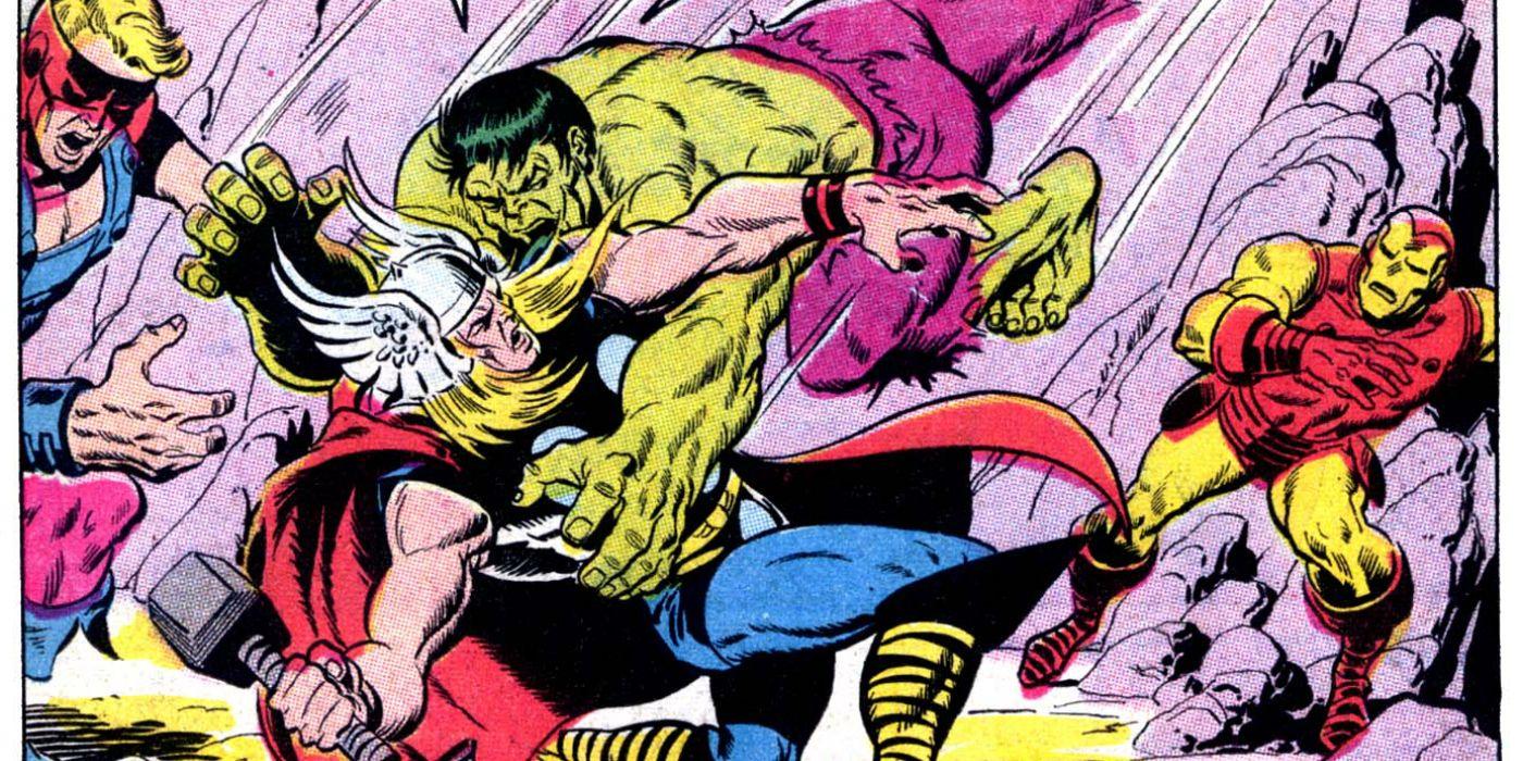 thor vs hulk 15 biggest fights in comics cbr