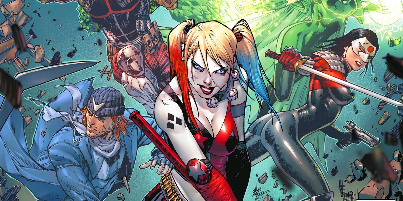 Tom Taylor's #SquadGoalsDC Hints at a DC Suicide Squad Relaunch