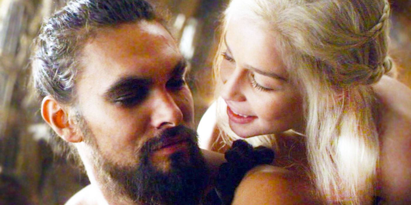 game of thrones daenerys and drogo love scene