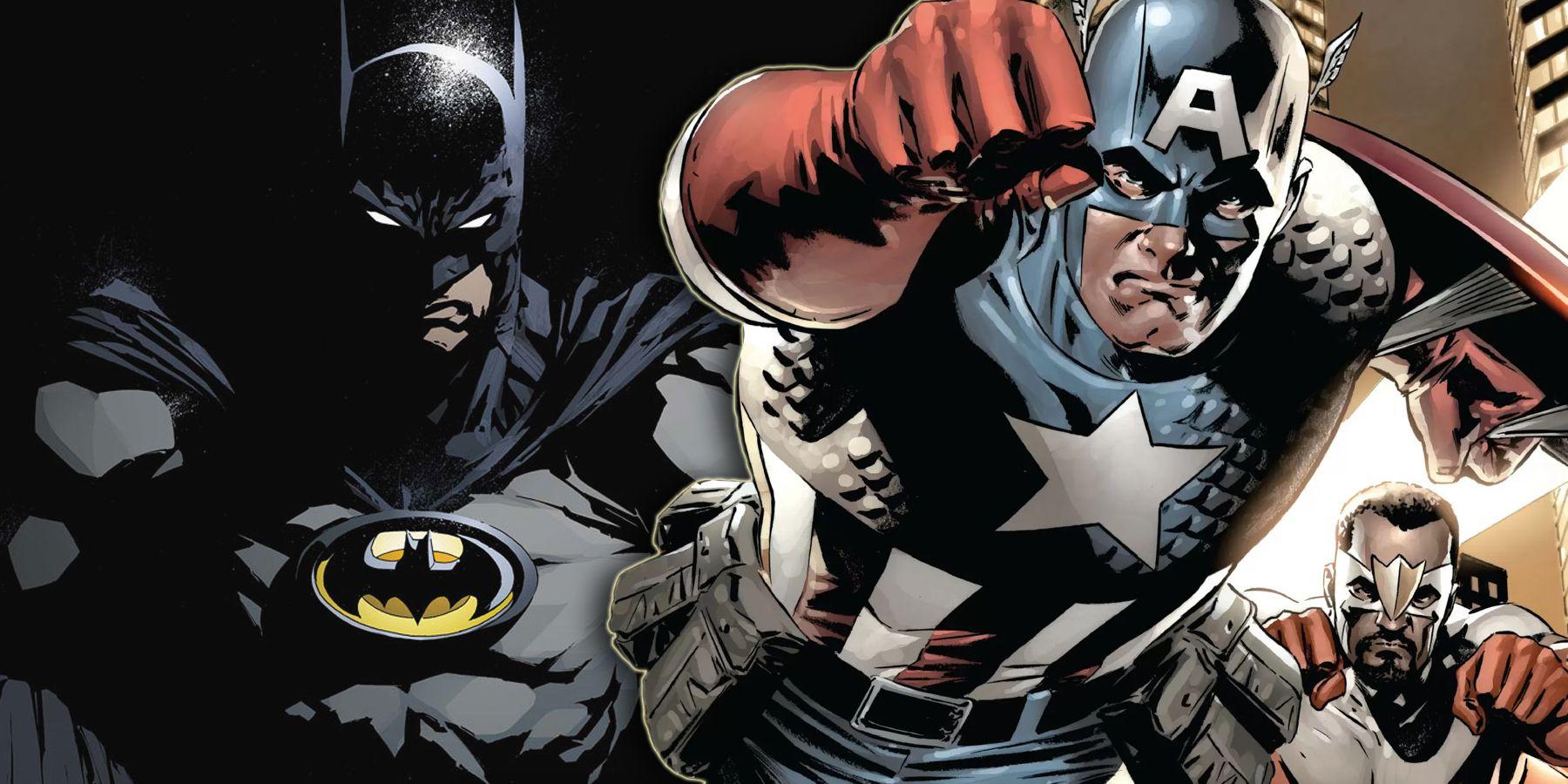 Captain America Marvel Or Dc
