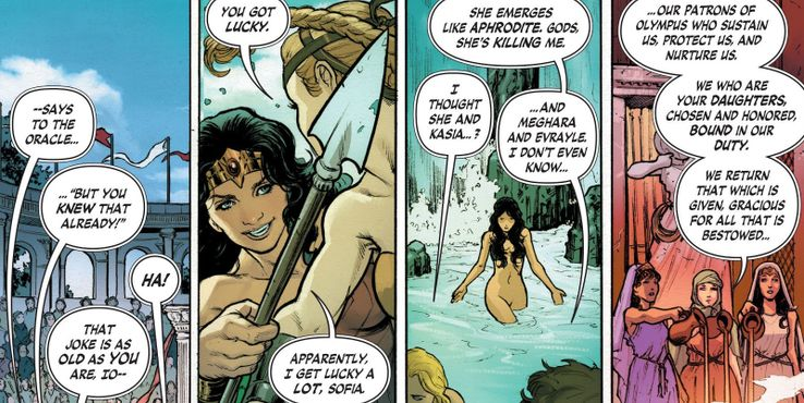 People Who Slept With Wonder Woman | CBR
