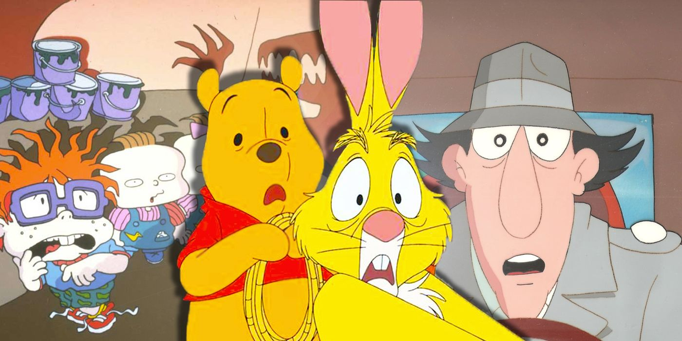 tigger and rabbit pinky and the brain
