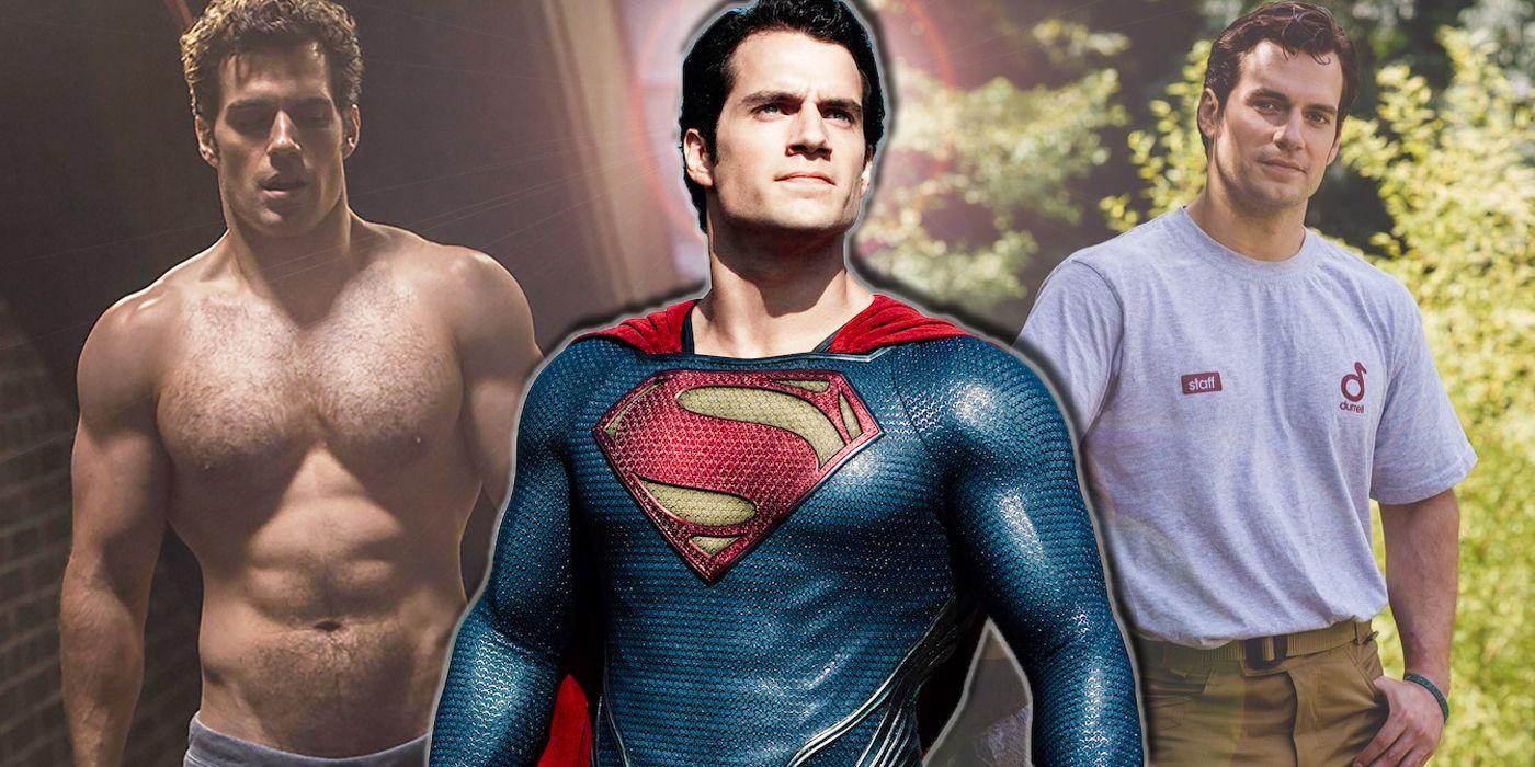 Henry Cavill: 15 BTS Pics That Prove He Is Superman IRL | CBR