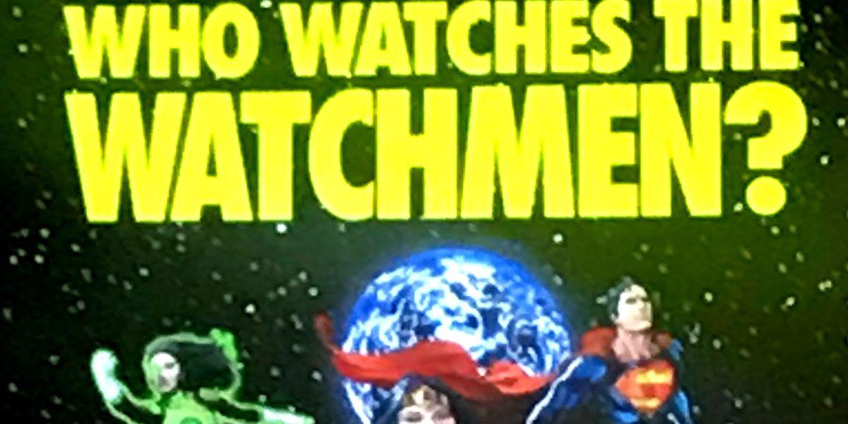 71ee6cfcb Rebirth Teaser Asks, 'Who Watches the Watchmen?' | CBR
