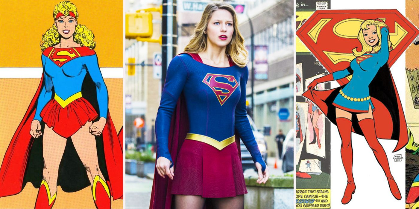 The Best And Worst Supergirl Costumes Cbr Rh Com Outline Of Super Women Emblem Template