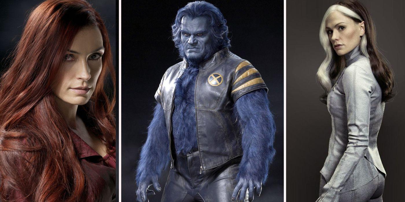 X Men Cast The Original X-...