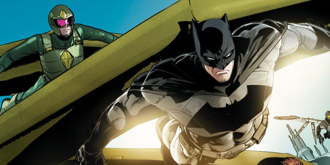 Tom King Shares First Look At Batman And Kite Man Bonding Over a Beer