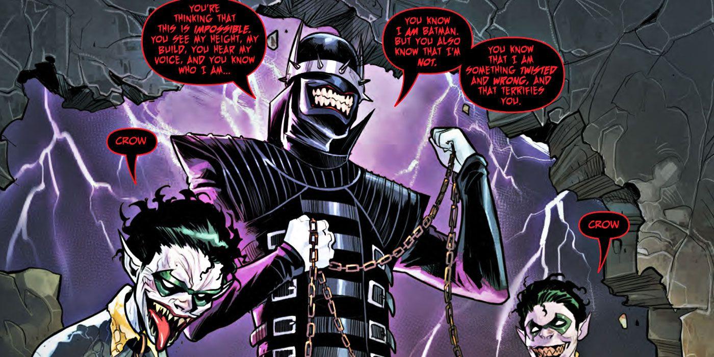 The Batman Who Laughs' Main Robin is an Evil Damian Wayne | CBR