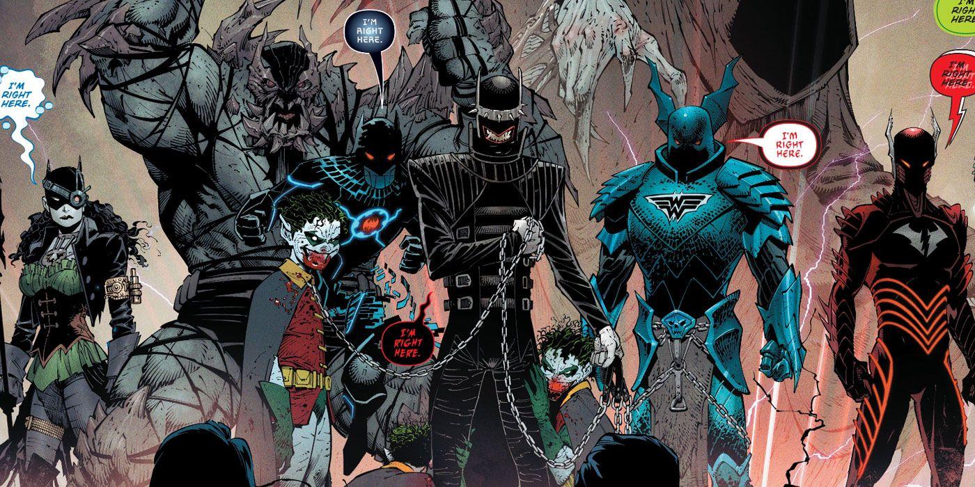 Who Are the Evil Batmen of DC's Dark Nights: Metal? | CBR