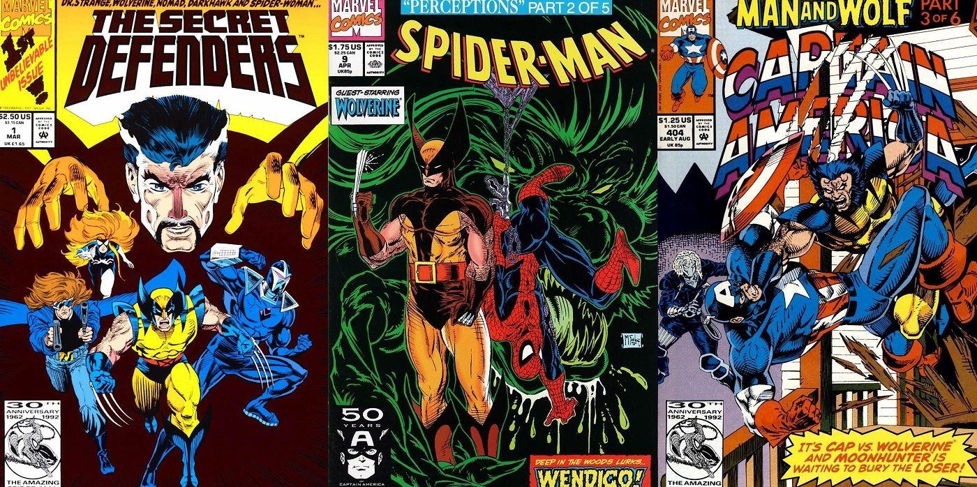 Great Wolverine Guest Star Streak | CBR