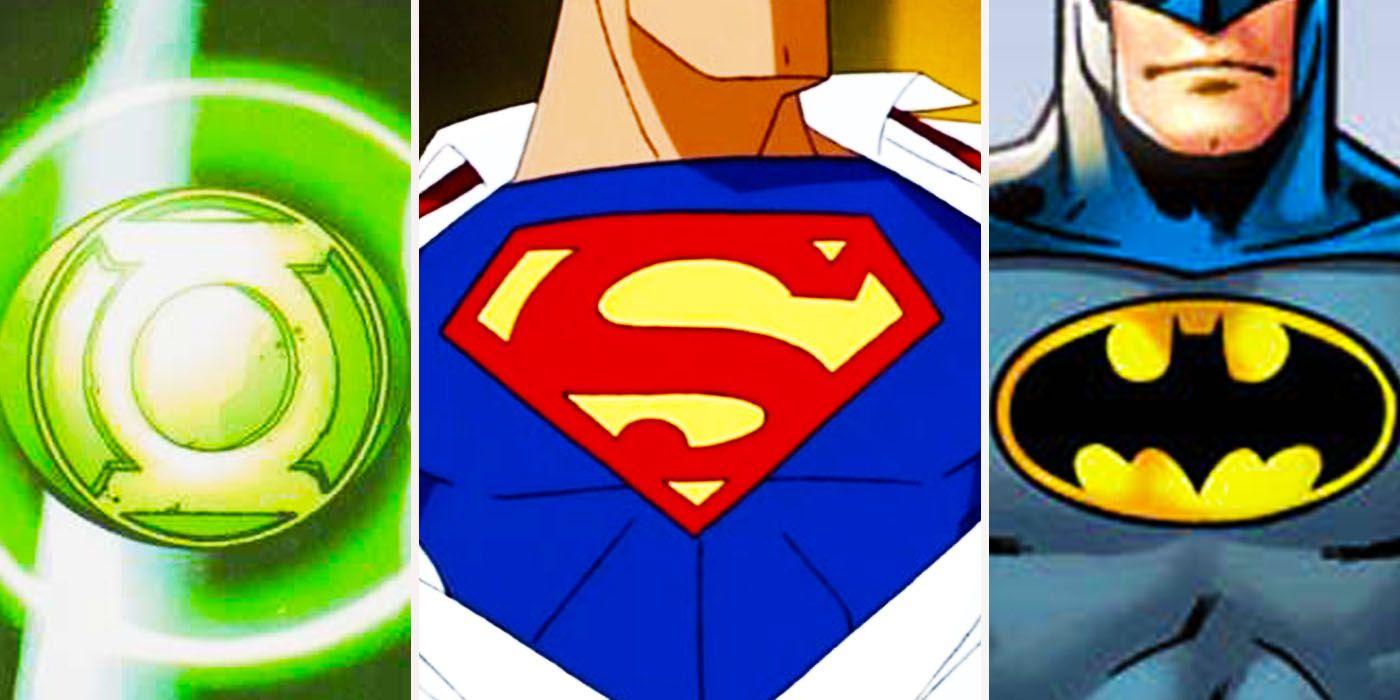 Dc S Most Powerful Superhero Symbols Ranked Cbr
