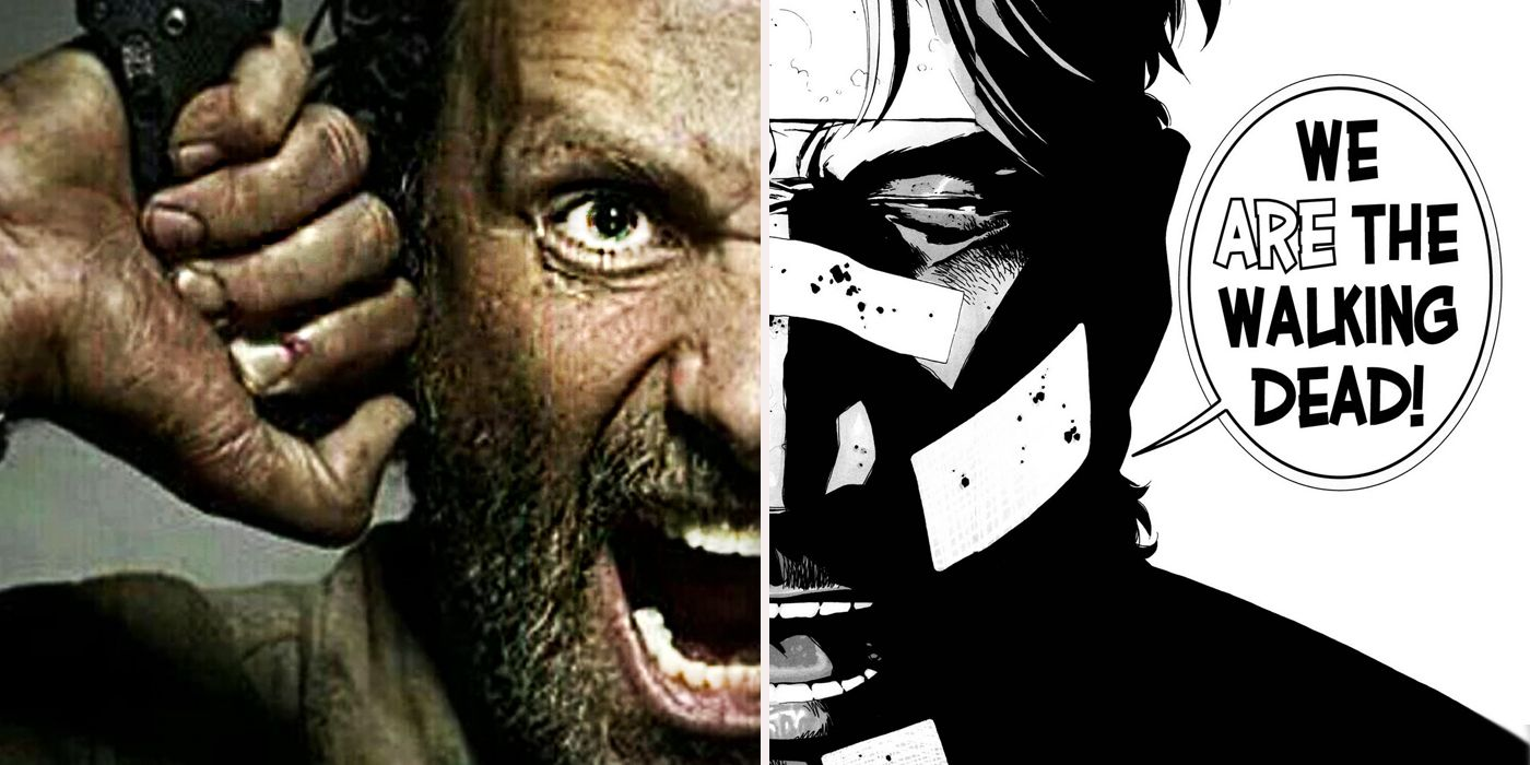 Image result for the walking dead comic rick