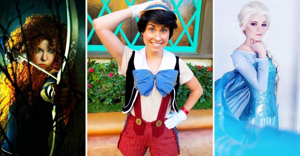 Amazing Disney Cosplays Cbr
