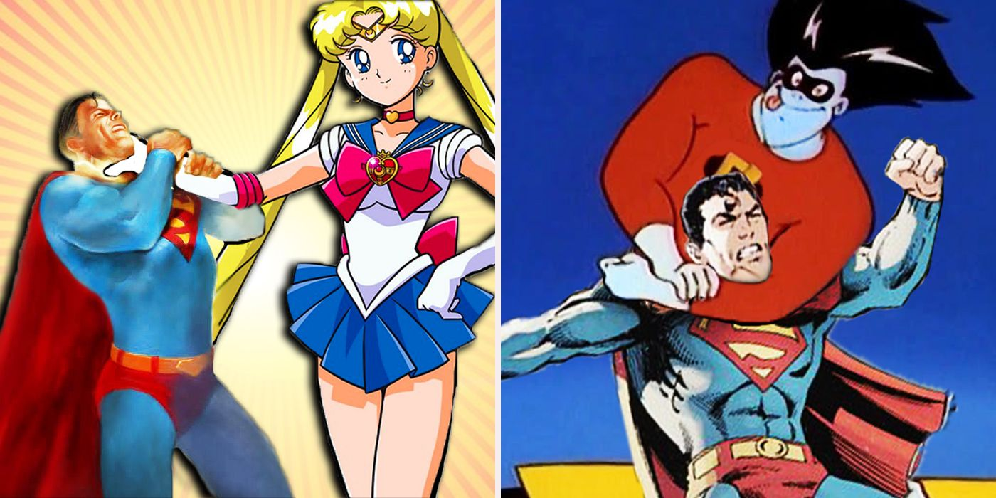Cartoon Superheroes Who Would Destroy Superman CBR