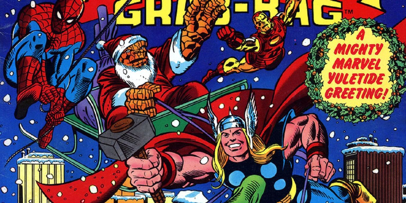 Christmas Comics.Top Five Greatest Marvel Comics Christmas Stories Cbr