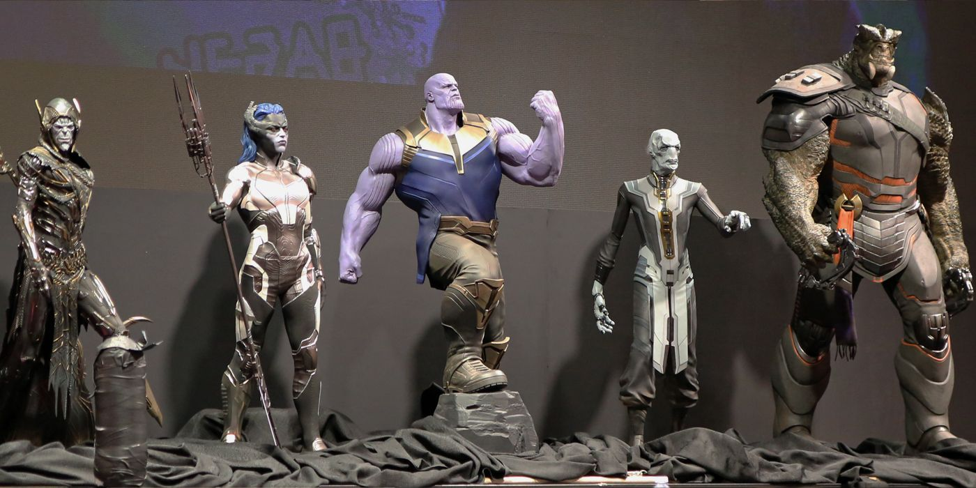 thanos' black order is avengers: infinity war's weakest aspect