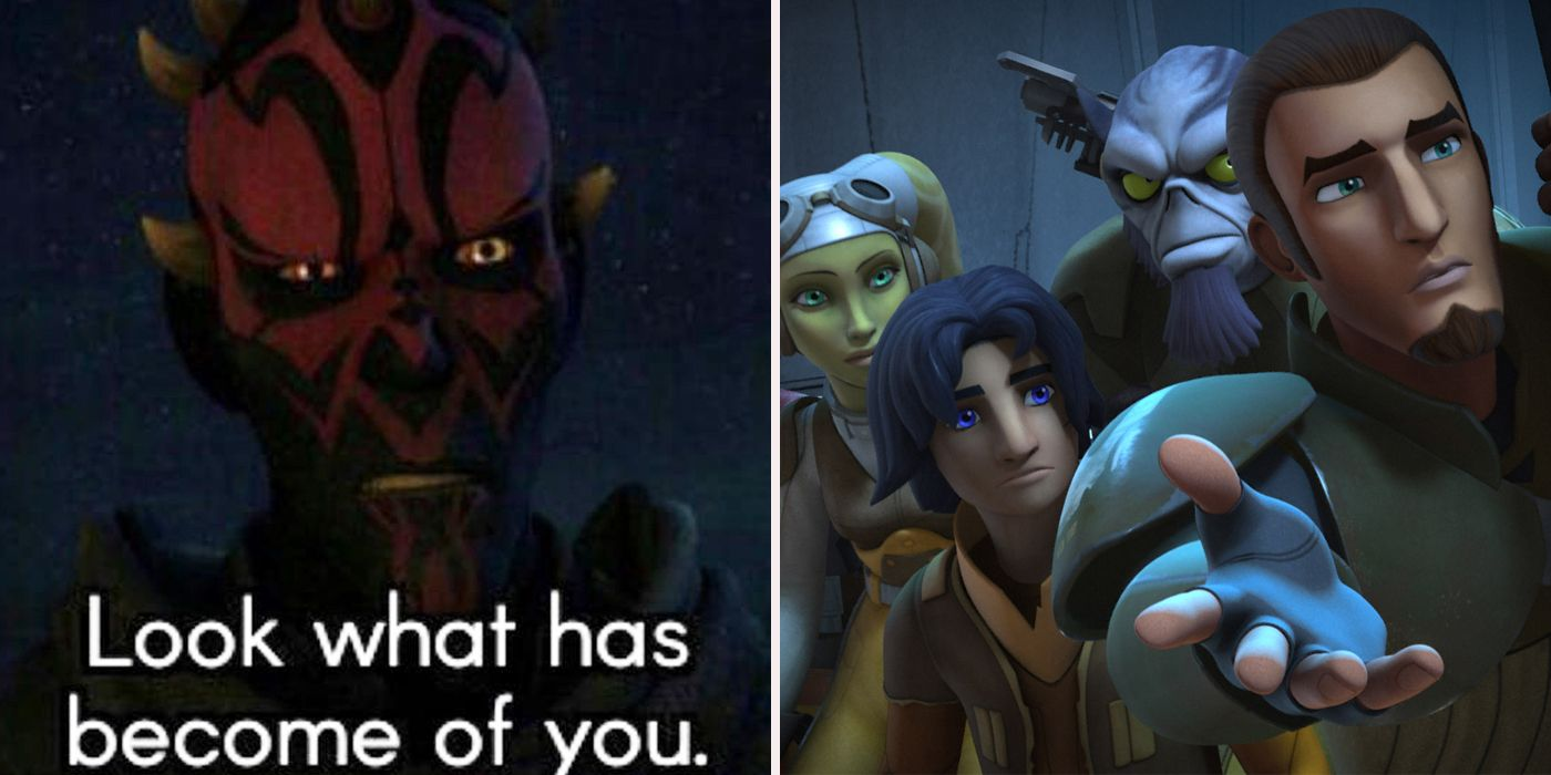 Star Wars: Rebels Vs Clone Wars Memes | CBR