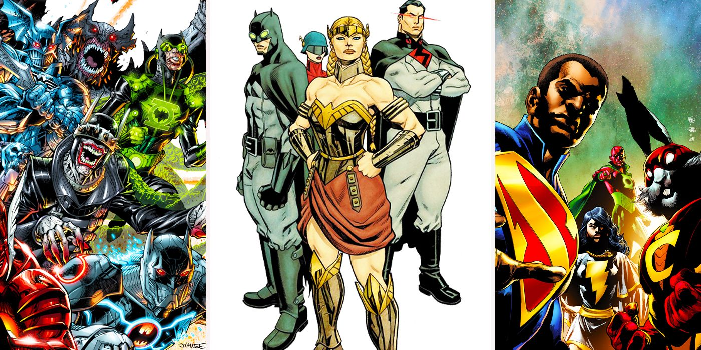 No Justice: The 15 Most Insane Justice League Rosters, Ranked