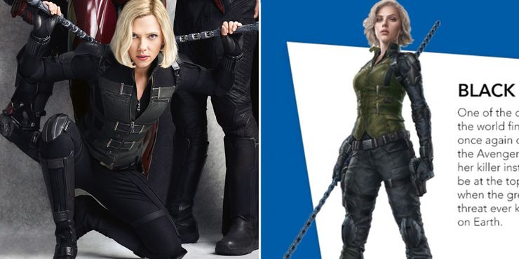 Ranking All Of Black Widow S Costumes Cbr