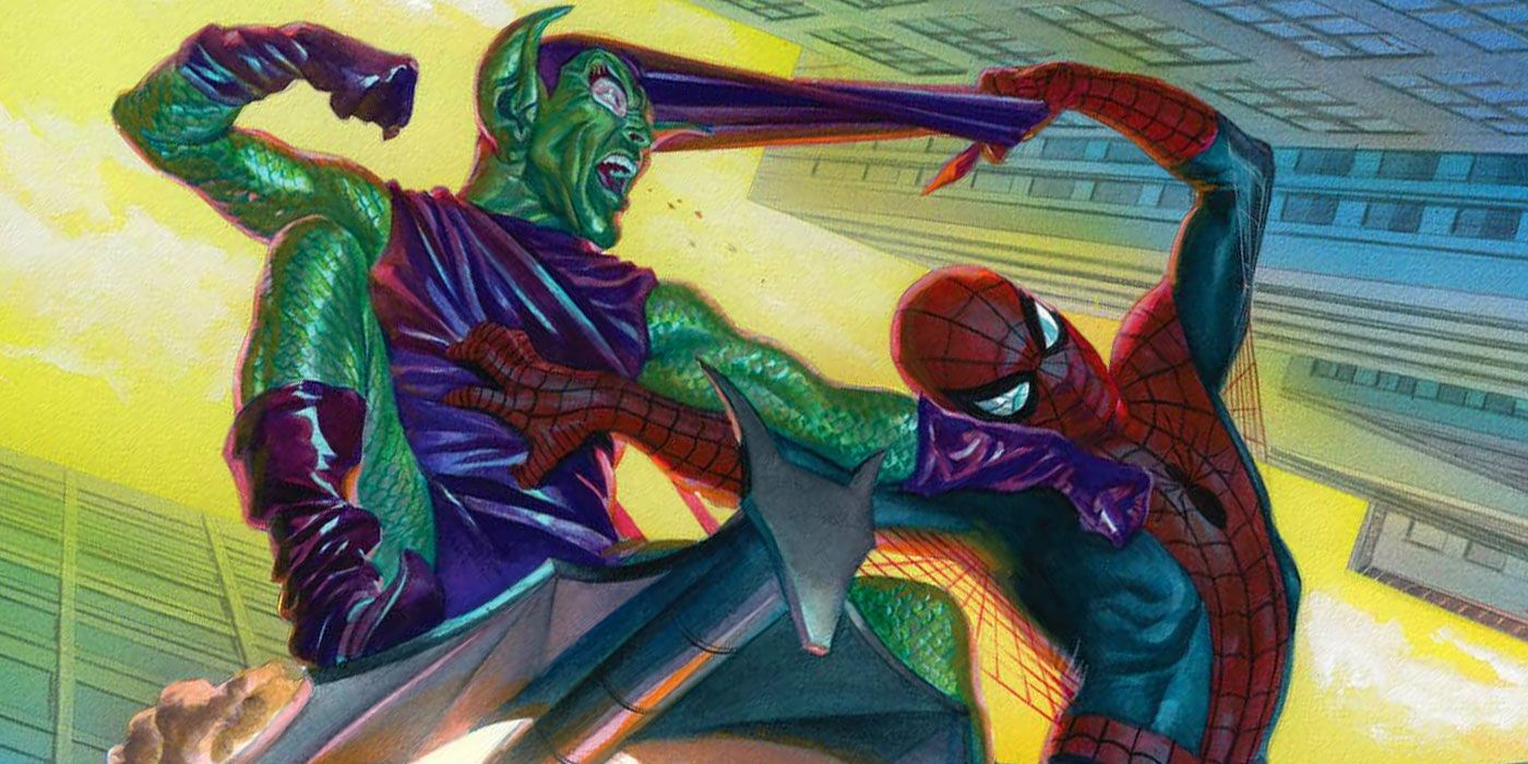 spider man s final fight with green goblin leads to red goblin s debut