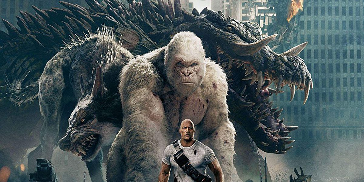 Rampage How The Movie S Monster Origins Compare To The Games