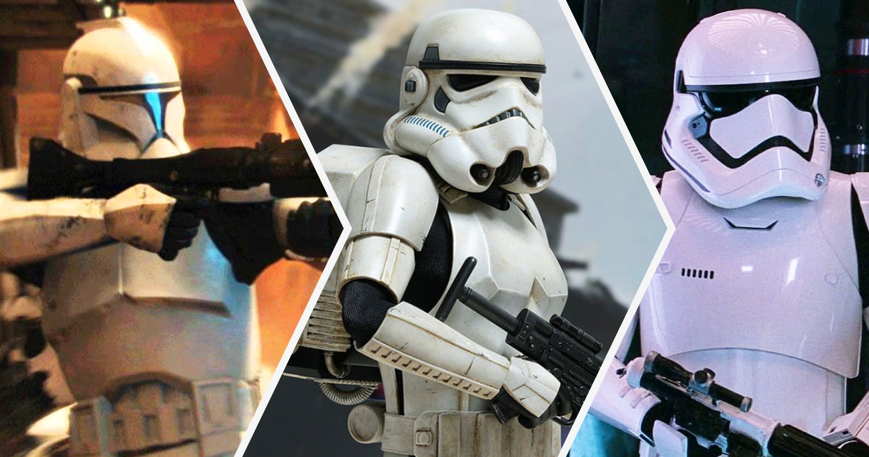 Star Wars 20 Strange Facts About Stormtrooper Armor Cbr