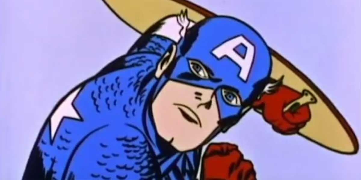 Captain America Cartoon Images: Captain America Video Compiles Funny Moments From 1960s