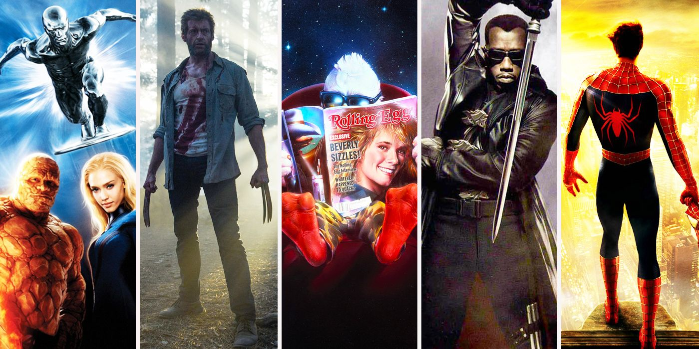 Every Non-MCU Marvel Movie, Officially Ranked | CBR