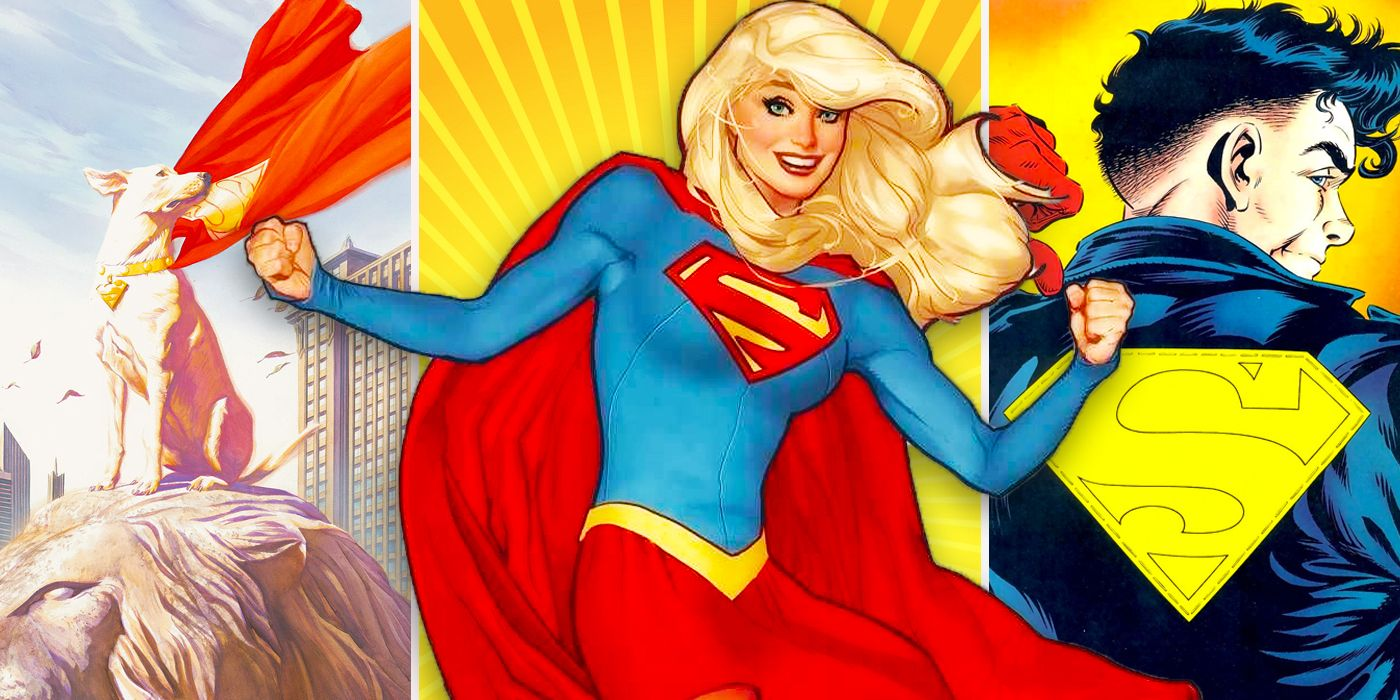 The 16 Strongest Kryptonians Ever, Officially Ranked   CBR