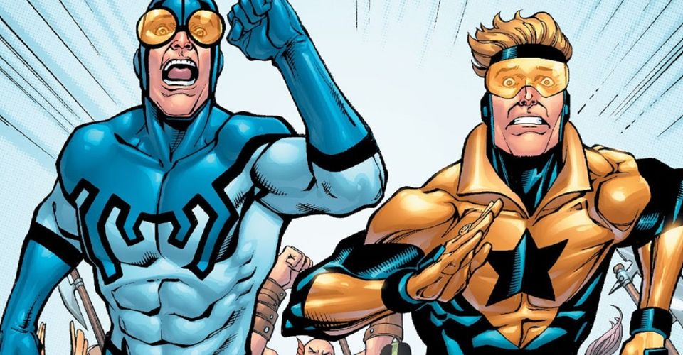 Blue Beetle and Booster Gold 10 greatest DC superhero partnerships