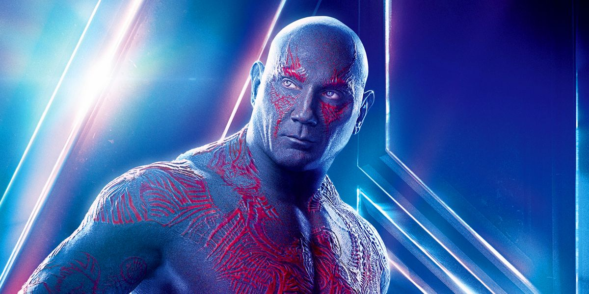 Avengers: Endgame: Bautista Shares Drax's Funeral Outfit Photo
