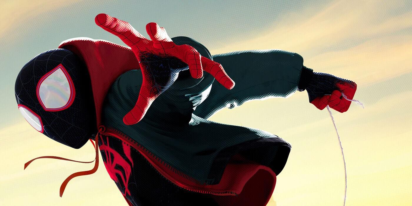 Spider-Man: Into the Spider-Verse Poster Takes to the Skies | CBR