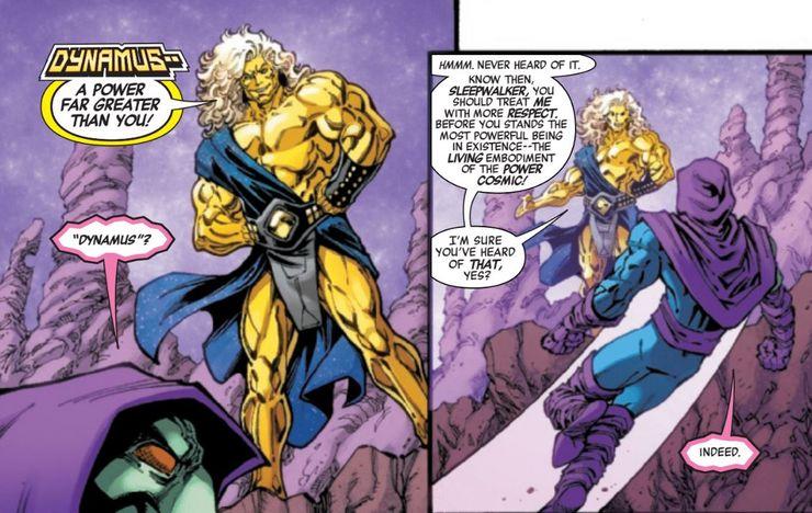 Infinity Wars: Sleepwalker #2 Introduces the Arena, the Power ...