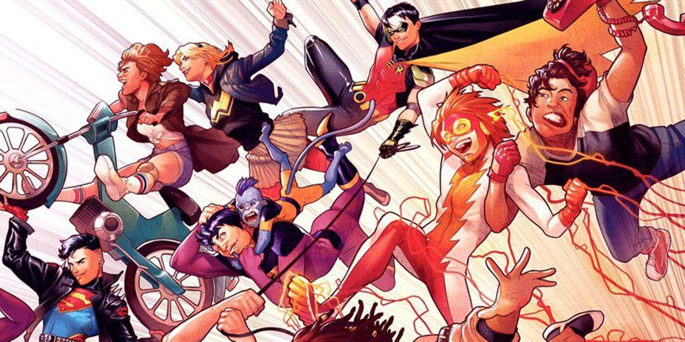 Image result for young justice 1 bendis