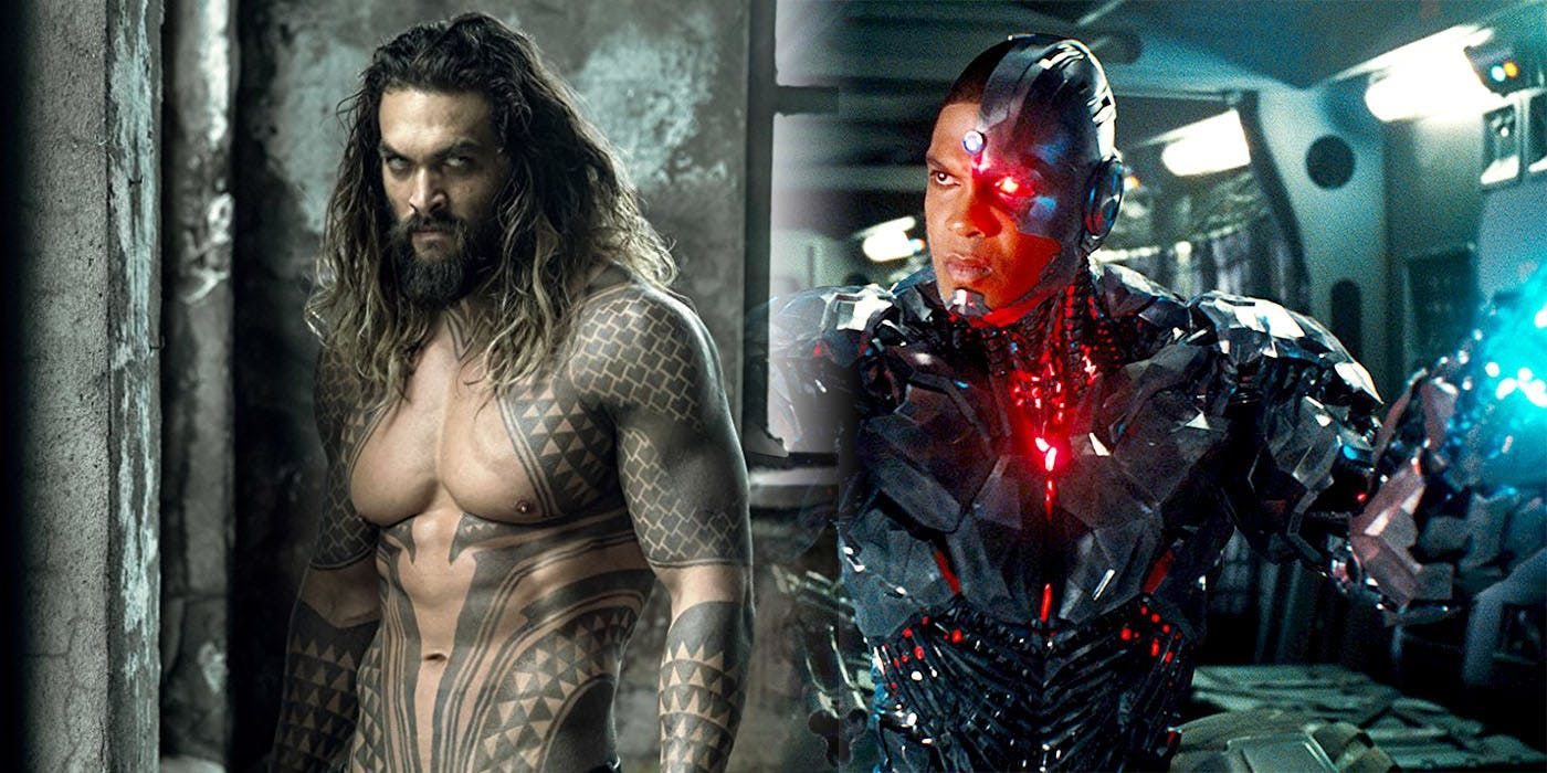 Cyborg Actor Ray Fisher Helps Net Up His Justice League Co