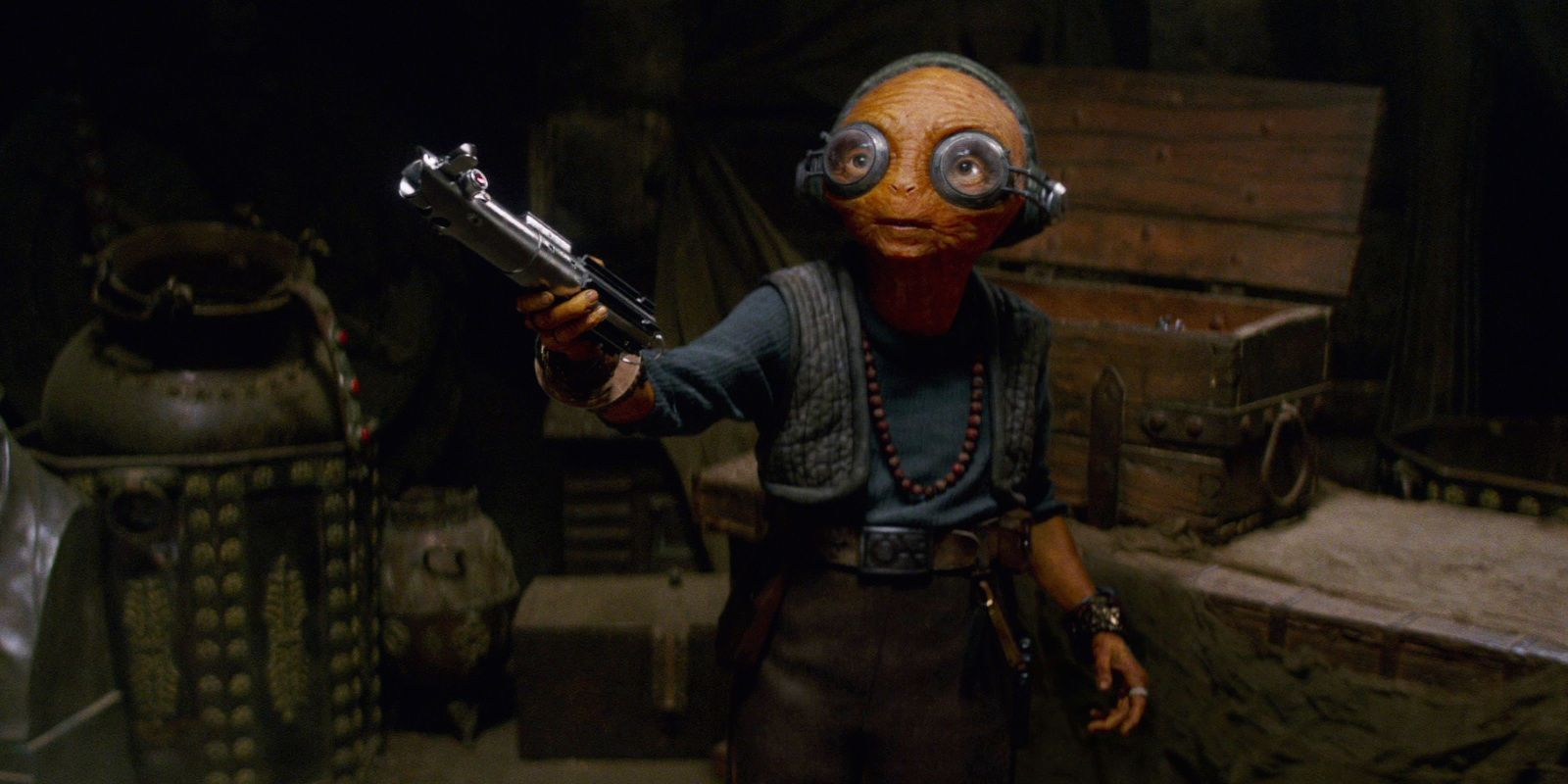 Star Wars Concept Art Gives Maz Kanata an Eye-Popping Redesign