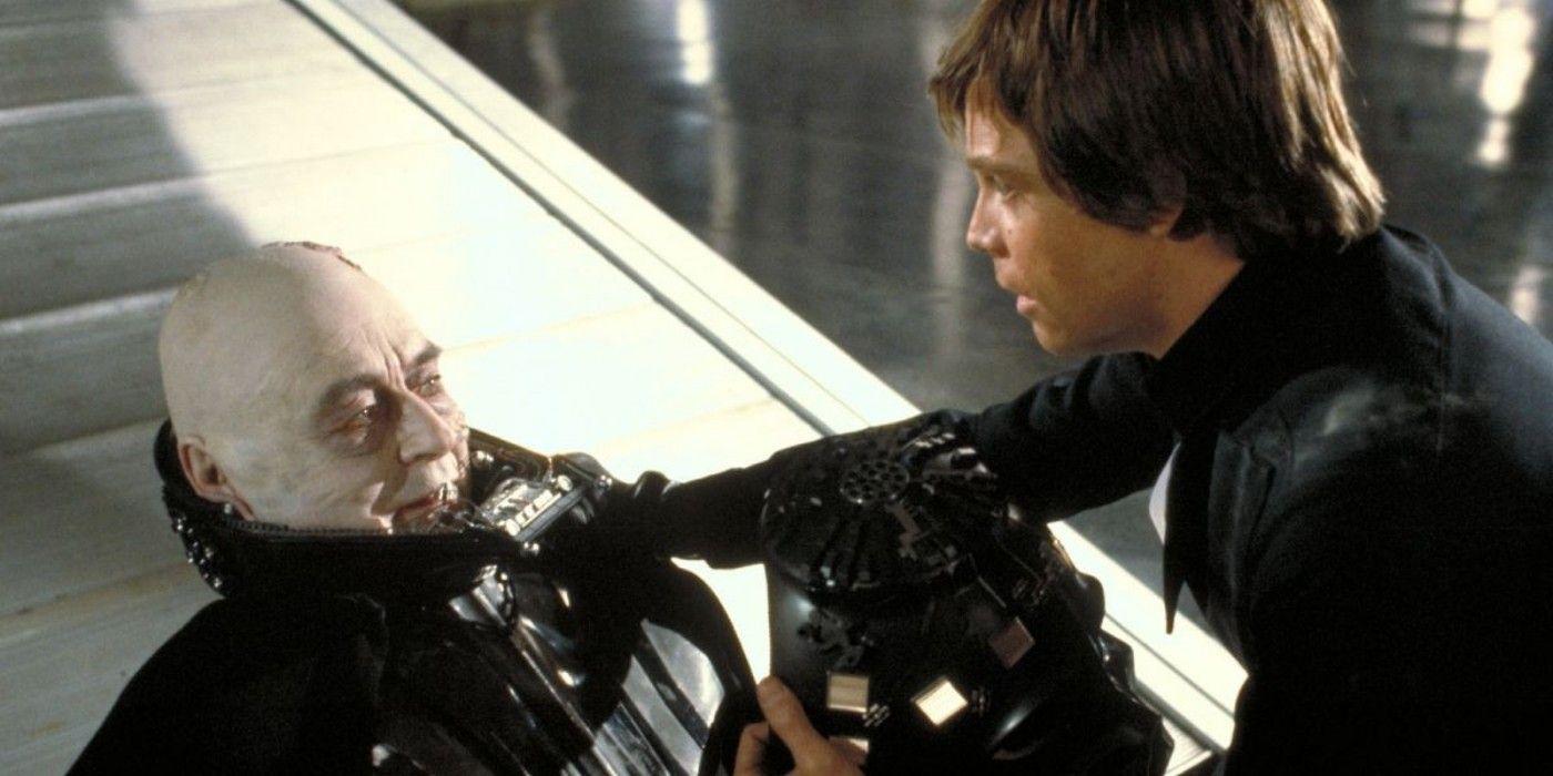 Darth Vader Return of the Jedi Luke Skywalker