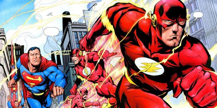 flash superman - La clasificación definitiva de todos los poderes de Superman