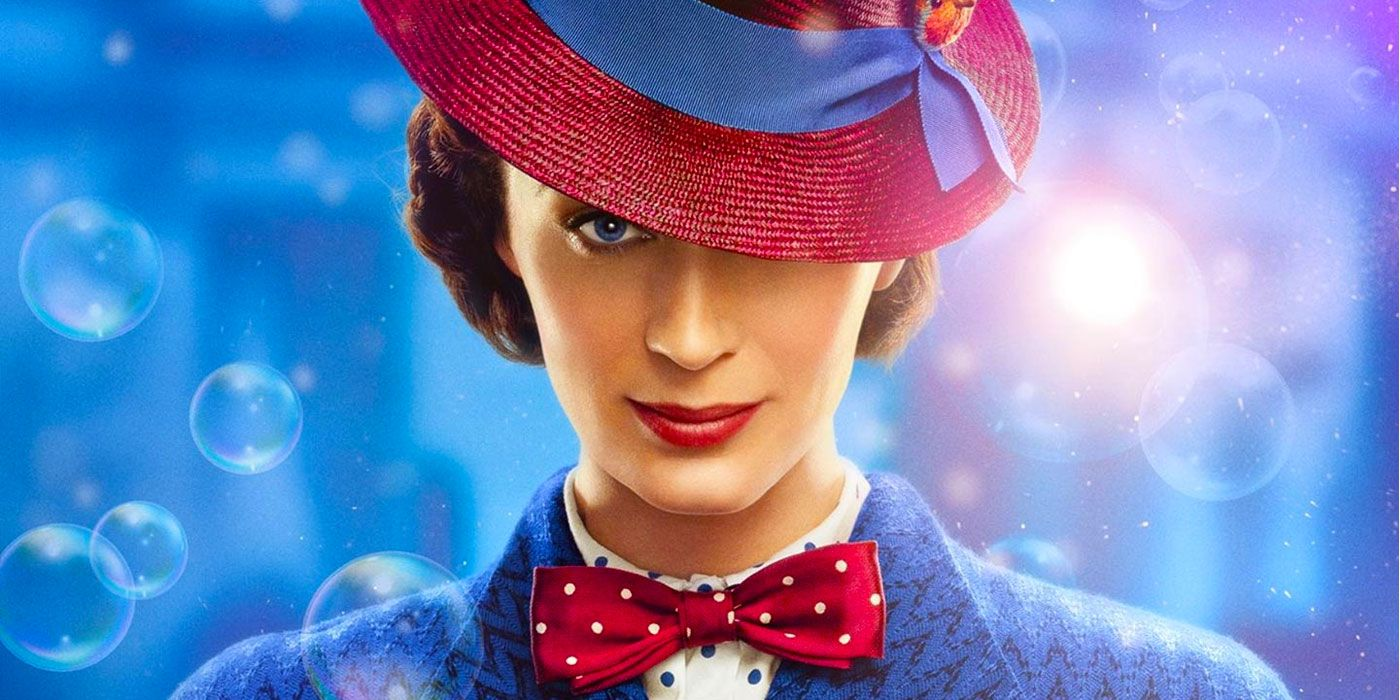 Emily Blunt Says She's Already Played a Superhero: Mary Poppins