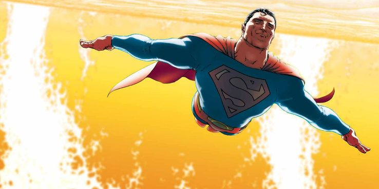 superman flying by sun - La clasificación definitiva de todos los poderes de Superman