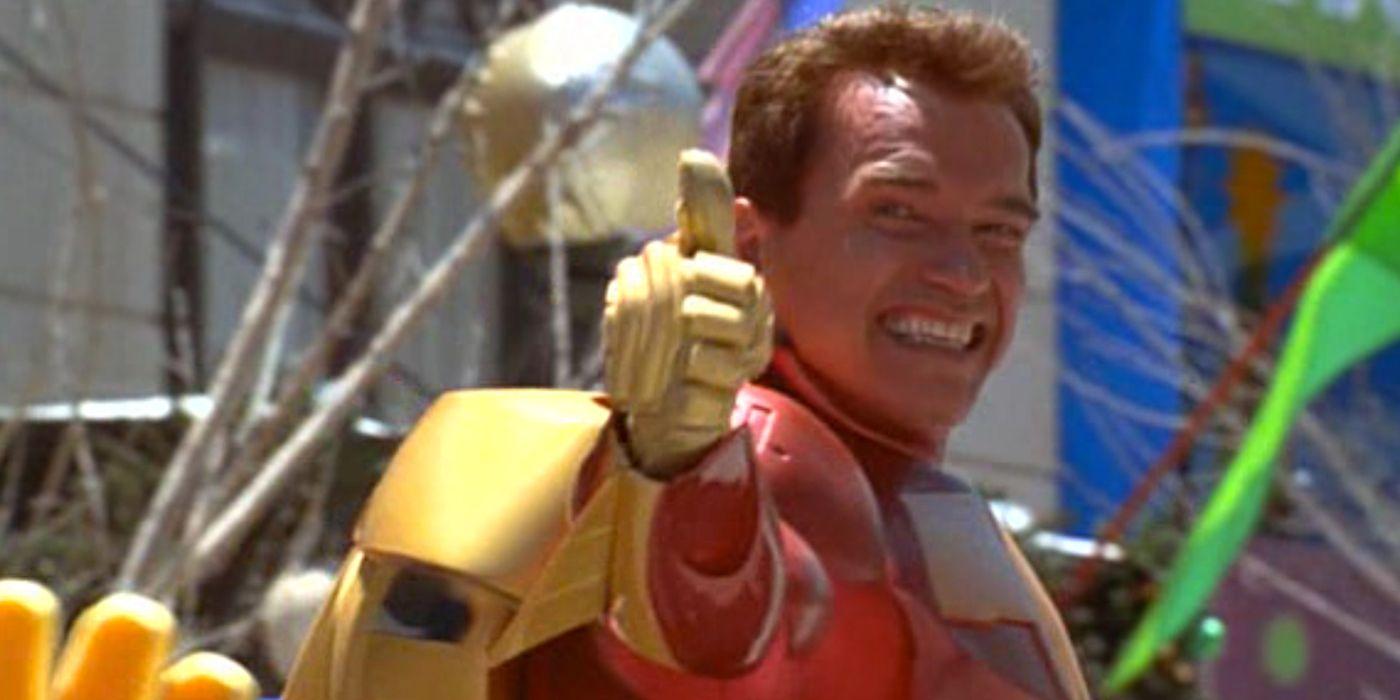 Kung Fury 2: Schwarzenegger Shares Photo of Himself as President
